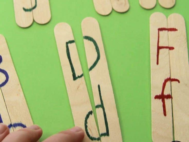 Preschool Letter Matching Activity