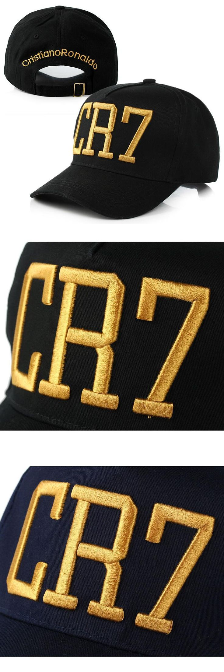 [Visit to Buy] Newest Style Cristiano Ronaldo CR7 Hats Baseball Caps Hip Hop Caps Snapback Hats for Men Women High Quality #Advertisement
