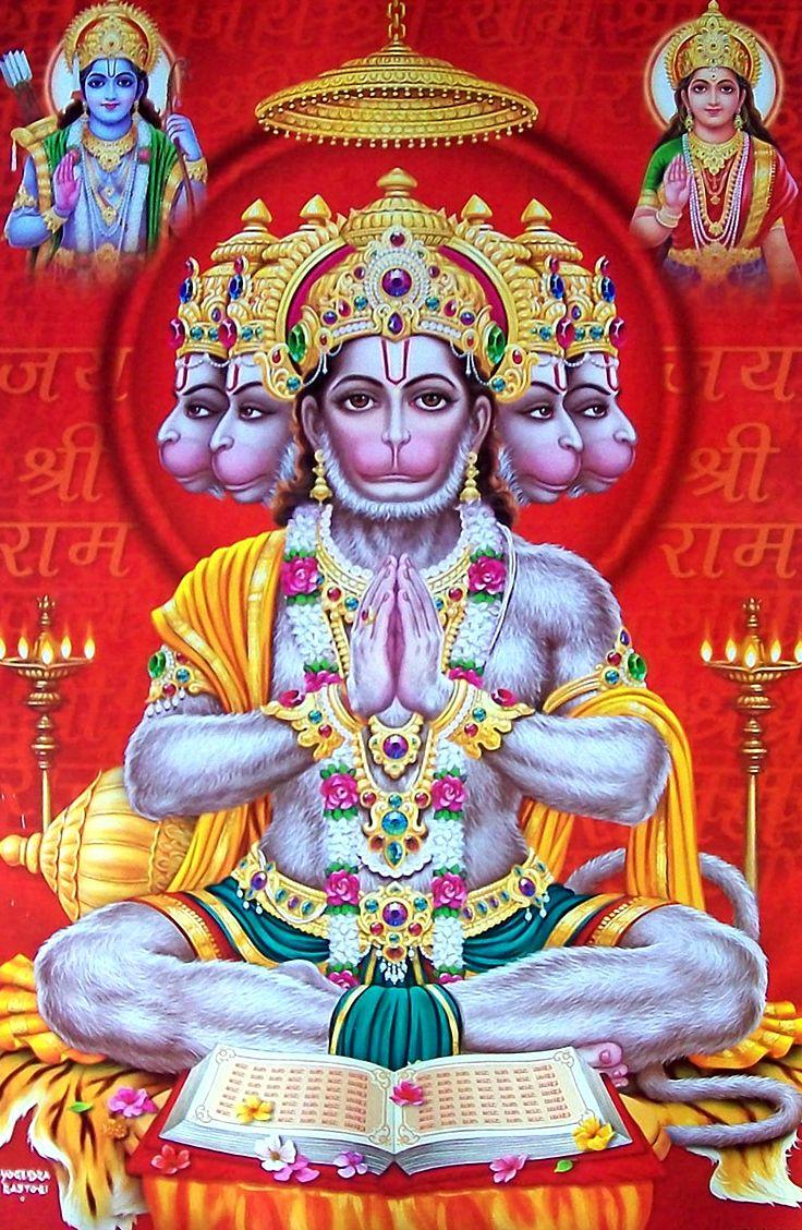 Hd wallpaper hanuman - Panchmukhi Hanuman Hanumanhd Photosjay