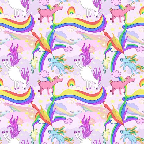 3219 best images about unicorns on pinterest for Space unicorn fabric