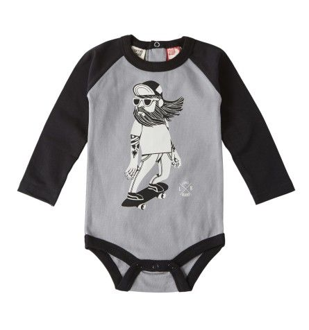 Infant & Toddler Apparel from brands like Santa Cruz, Spitfire, Creature, Independent Trucks, Bones Wheels and more.