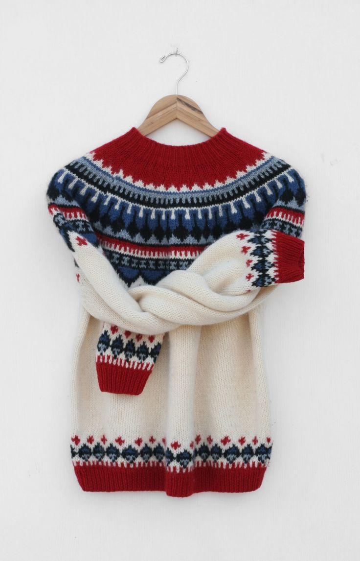 Vintage Eddie Bauer Nordic Sweater — Everything Golden