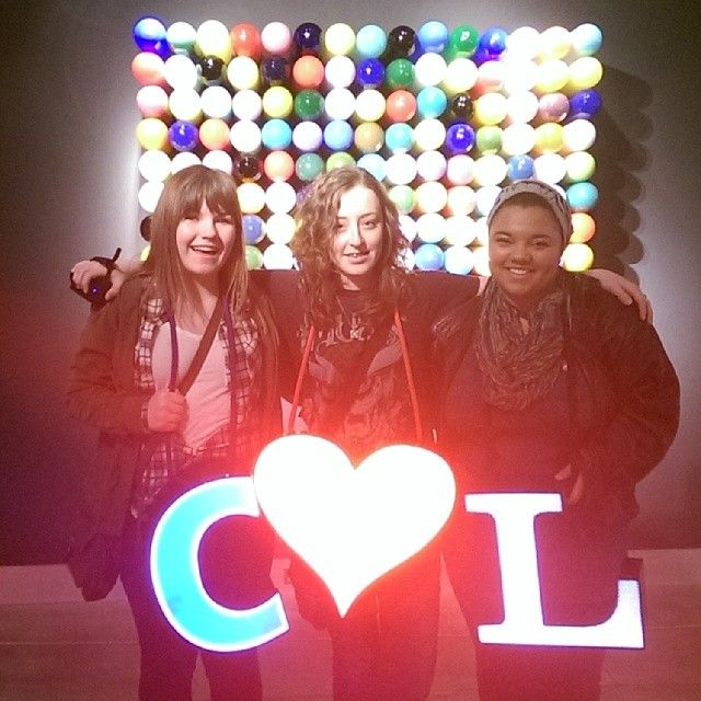 Friends love coming to Museum of Glass! Via Instagram user courtneyrutzer
