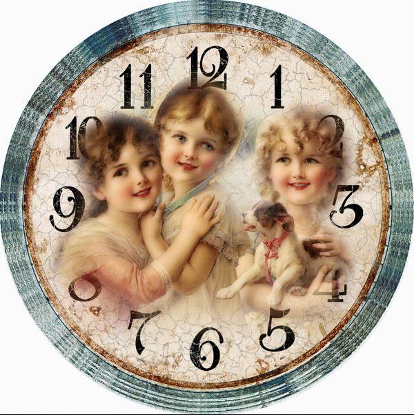 Gallery.ru / Фото #158 - Циферблаты для декупажа часов. - lada45dec