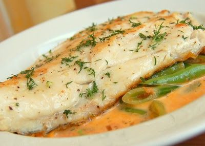 Beyond Salmon: John Dory with Tomato Cream Sauce                                                                                                                                                                                 More