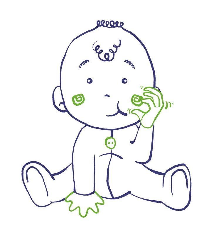 Bien-aimé Les 132 meilleures images du tableau Enfants - Bébé signes sur  DE57