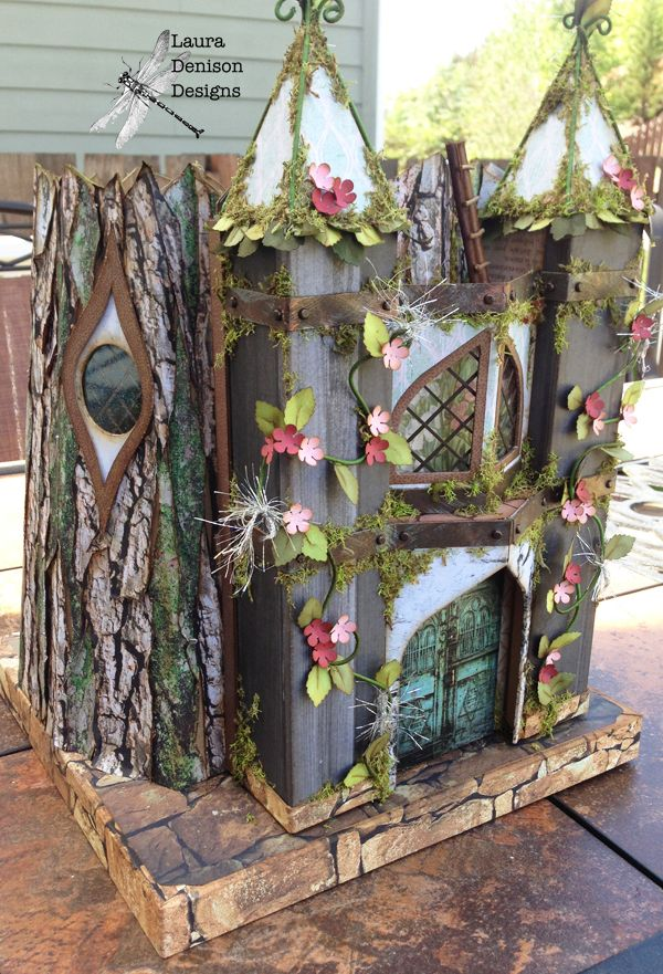 Laura Denison as Following the Paper Trail - Spring Fairy House; May 2014