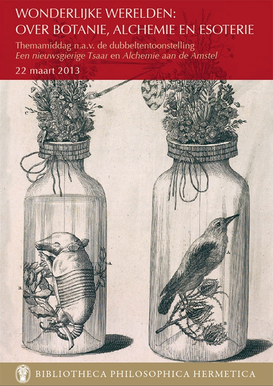 Special event - Wonderful Worlds of botany, alchemy and esotericism - 22-03 2013