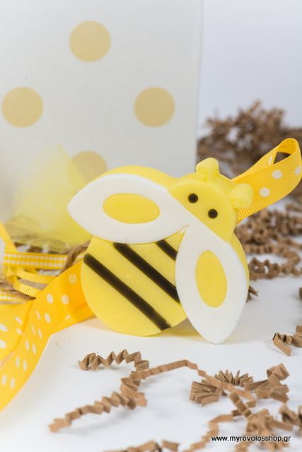 Μπομπονιέρα Βάπτισης (Soap Tales) Μέλισσα σαπουνάκι ST-46