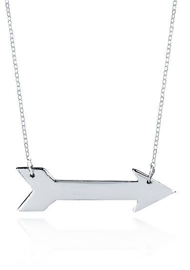 Belk & Co. Sterling Silver Arrow Necklace