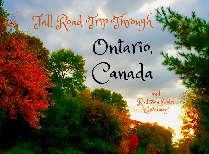 A fall road trip through Ontario Canada provides ample leaf peeping driving, culture and natural beauty. Enter to win a one night stay at a Radisson Hotel! #ad #StayCanada #Radisson #fall #romantic #roadtrip #Canada #Montreal #Toronto #NiagaraFalls