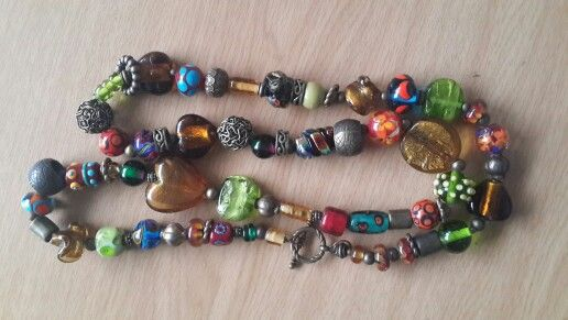 Glassbeads - necklace