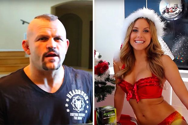 MMA: Christmas singing with Chuck Liddell and Brittney Palmer