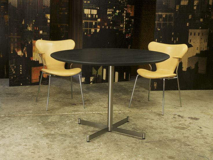 ZORO black table. The table top can be customized.  http://www.kjeldtoft.com/