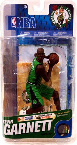 McFarlane Toys NBA Sports Picks Series 18 Action Figure Kevin Garnett (Boston Celtics) Green Uniform with Black Logos Bronze Collector Level Chase - http://bignbastore.com/nba-accessories/nba-toys/mcfarlane-toys-nba-sports-picks-series-18-action-figure-kevin-garnett-boston-celtics-green-uniform-with-black-logos-bronze-collector-level-chase