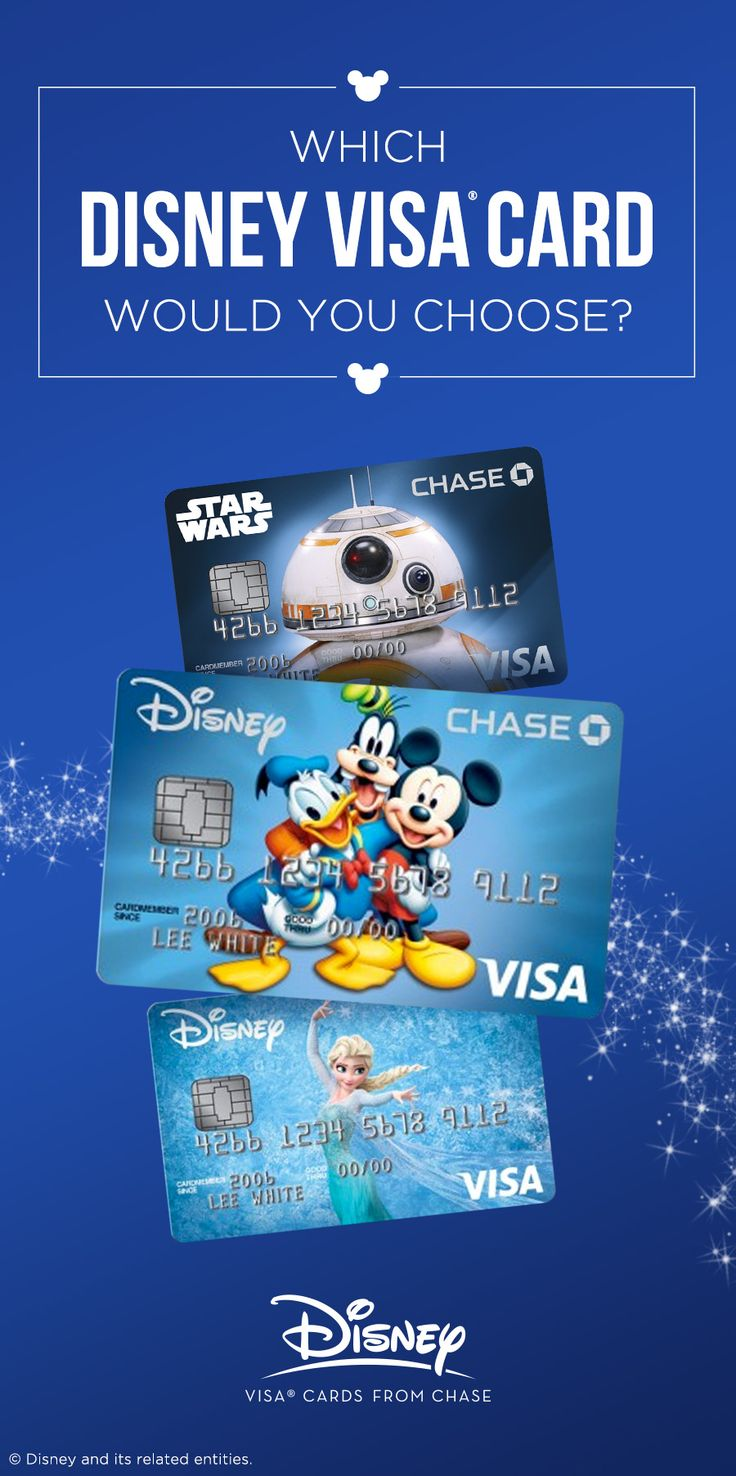 Disney visa credit cards compare card features disney