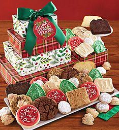 Happy Holiday Bakery Gift Tower