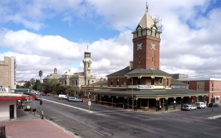 broken hill Australia Post. Argent Street, Broken Hill