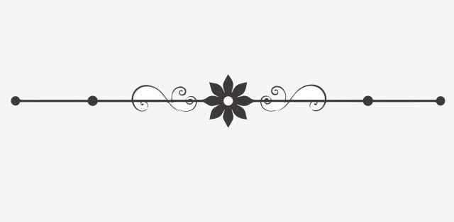 Flower Dividing Line Wavy Lines Simple Dividing Line Partition Line Gray Minimalist Dividing Line Minimalist Dotted Line Png And Vector With Transparent Back Graphic Design Background Templates Vector Flowers Line Background