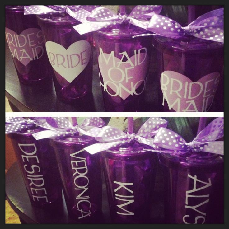 20 best tumblers images on pinterest bridal party tumblers made using the cricut with vinyl and 99 cent store cups solutioingenieria Images