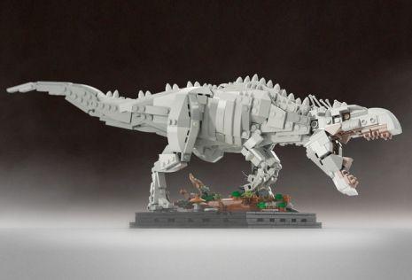 Cool Stuff: Custom LEGO Sets for 'Jurassic World' Indominus Rex and 'Jurassic Park' Ford Explorer