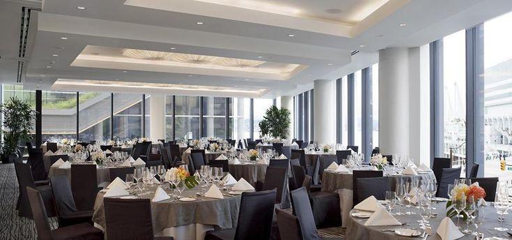 Fairmont Pac Rim - Emerald Ballroom  Ballroom feel venue, customizable with food stations, hotel catering