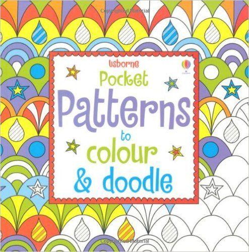 Карманные Шаблоны к Цвет & Doodle (Usborne художественные идеи): Kirsteen Роджерс: 9781409532446: Amazon.com: Книги