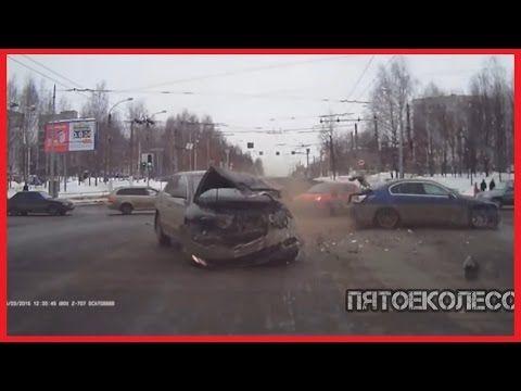 (18+) Новая Подборка Аварий и ДТП #8 Март 2016 || Пятое Колесо