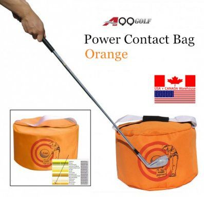 A99 Golf Power Contact Bag orange