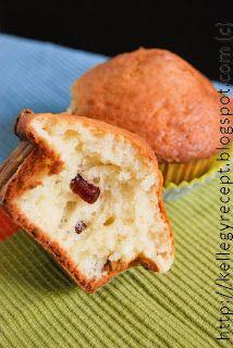 Mandy kertje és konyhája: Túrós muffin, aszalt gyümölcsökkel