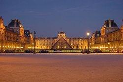 Louvre Pyramid - I.M. Pei