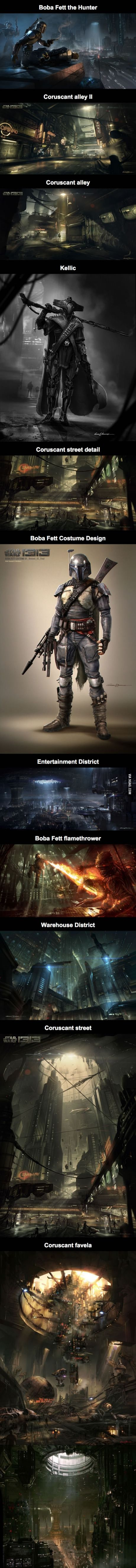 Star Wars 1313 - the game starring Boba Fett, set on Coruscant, that could have been.