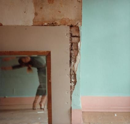 <i>Untitled, New York  1979  by Francesca Woodman