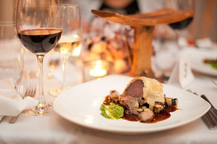 @PureRestaurant #WineandDine Venison - Wellington Style paired w/ Painted Wolf Pictus One (May2014)