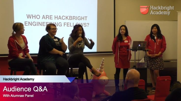 (Video) New Mentor Orientation - Hackbright Alumnae Panel with Chloe Corden, Christina Foran and Anli Yang - moderated by Aileen Bautista - MCed by Angie Chang | Hackbright Academy