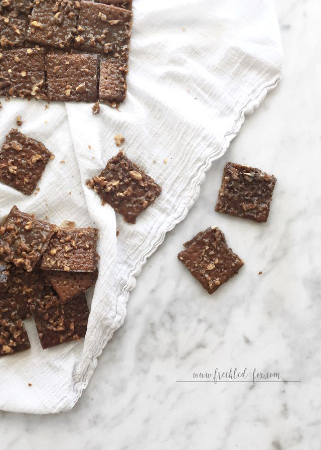 The Freckled Fox: Quick Recipe: Caramel Cashew Brittle