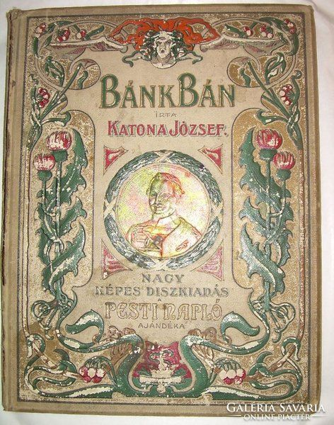 Bánk Bán Nagy Képes Díszkiadás 1899 Geiger, Csók István