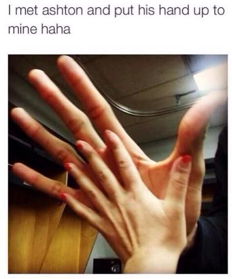 THATS SCARY. ONE OF HIS FINGERS ARE LIKE A FOOT LONG.