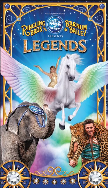 """NEW!!! WIN 4 Tickets to #RInglingBros """"Legends"""" at Palace of Auburn Hills - ENDS 11/7/2015 #RinglingLEGENDS http://ow.ly/U6Zcg ENTER NOW!!!"""