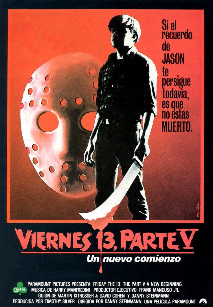 Viernes 13, posters de muerte
