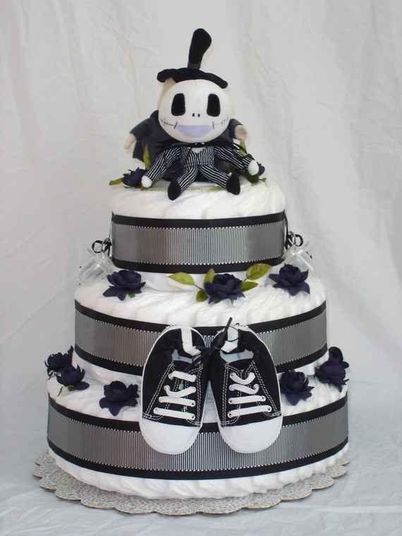 Nightmare Before Christmasu003c3 Diaper Cake Ideas That Are Borderline Genius
