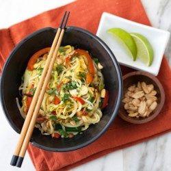 Summer Squash Pad Thai - EatingWell.com