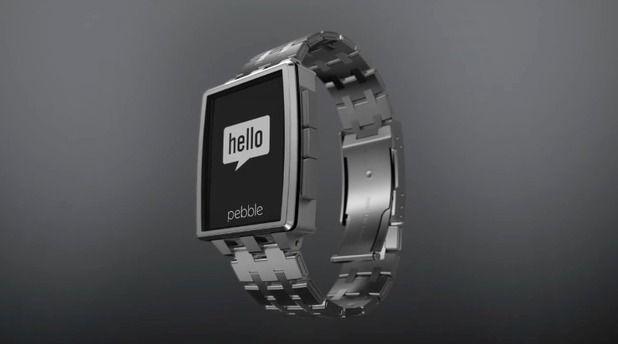 Pebble Steel smartwatch