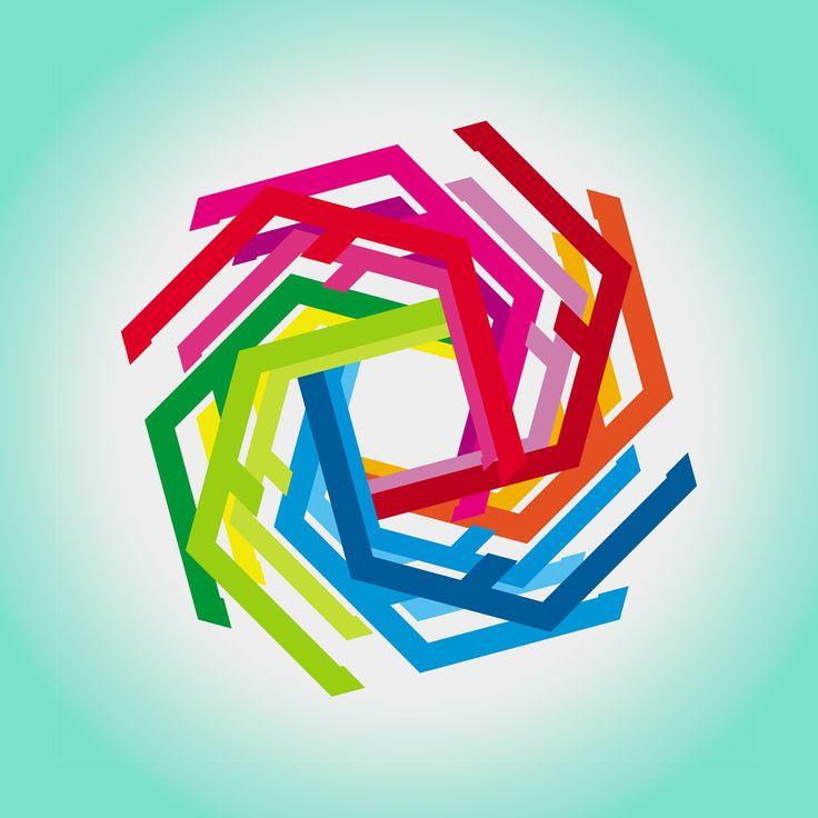 """""""hogar"""" by Amel Segré. Exciz6, la dimensión geométrica. #abstrac #art #conceptual"""