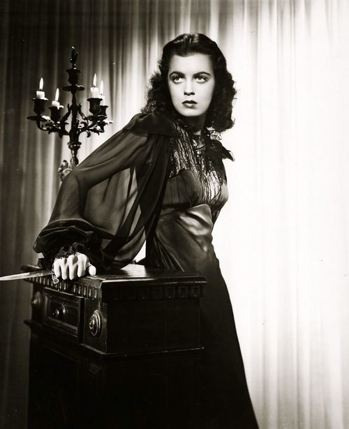 "Faith Domergue in ""Vendetta"" (1950)"