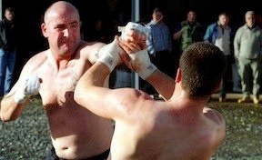 Documentary examining the savage world of bare-knuckle boxing and how the brutal fighting style is employed by members of feuding Irish Traveller Clans to settle disputes. #knuckle #documentary #movies #film #boxing #fighting