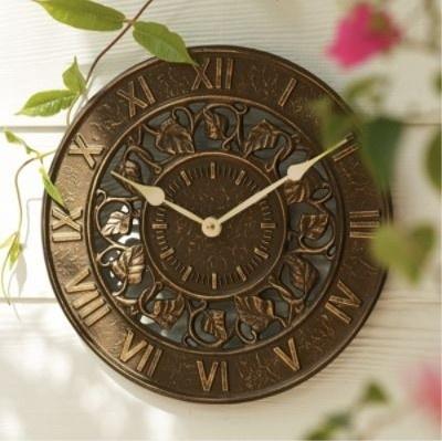 Garden Clock.