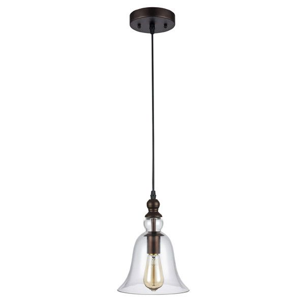elk lighting chadwick 1 light pendant in oil rubbed bronze see more laurel foundry modern farmhouse bouvet 1light mini pendant