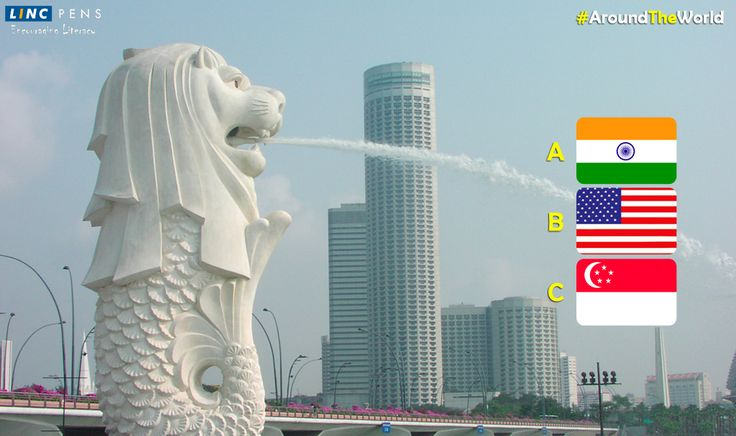 The #merlion is located in?