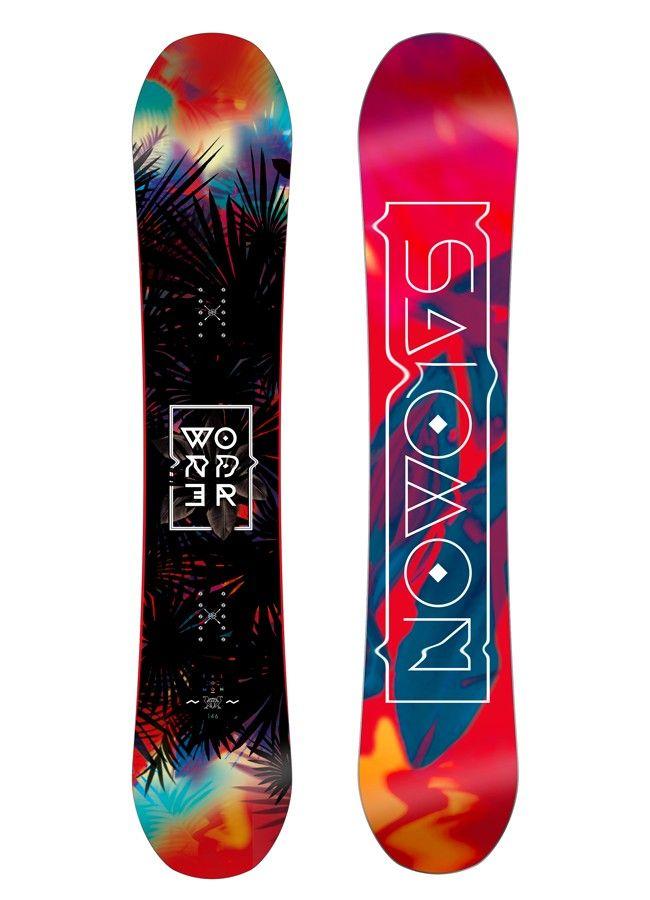 Salomon 2017 Wonder Snowboard - Womens